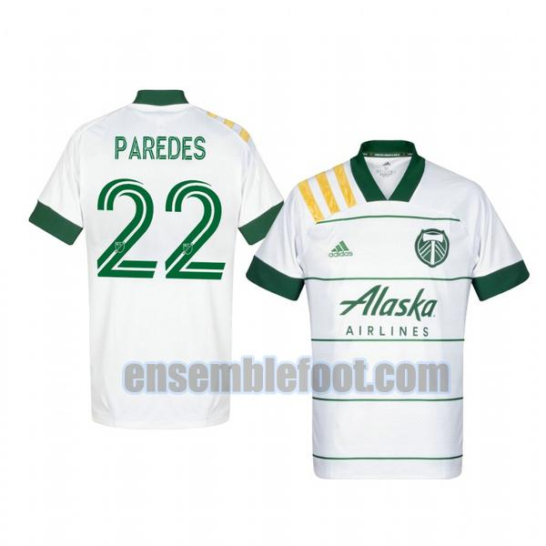 maillots portland timbers 2020-2021 exterieur cristhian paredes 22