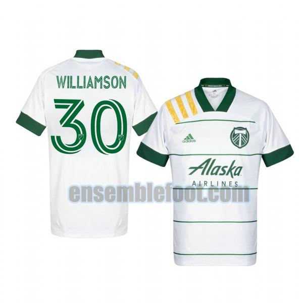 maillots portland timbers 2020-2021 exterieur eryk williamson 30