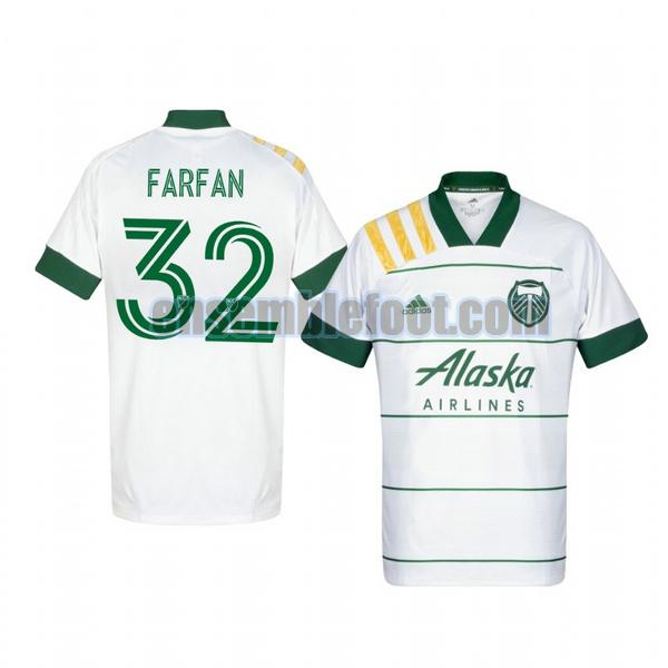 maillots portland timbers 2020-2021 exterieur marco farfan 32