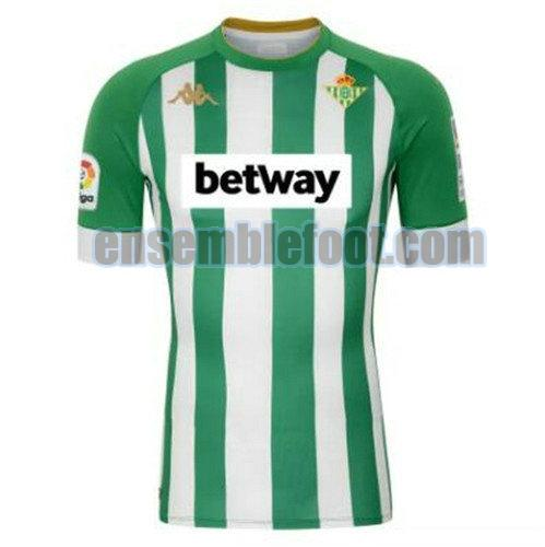 maillots real betis 2020-2021 officielle domicile