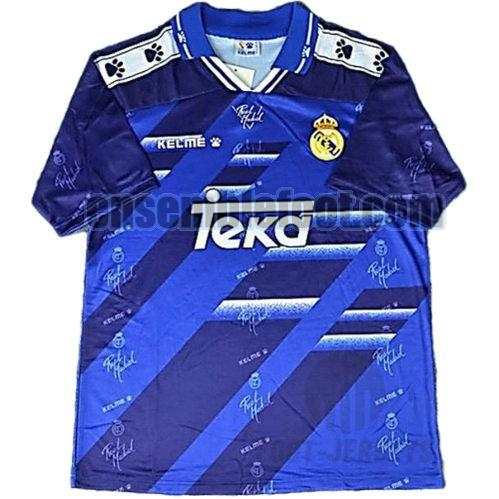 maillots real madrid 1994-1996 thaïlande exterieur
