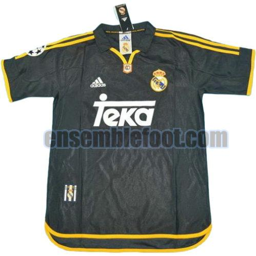 maillots real madrid 1999-2000 thaïlande exterieur