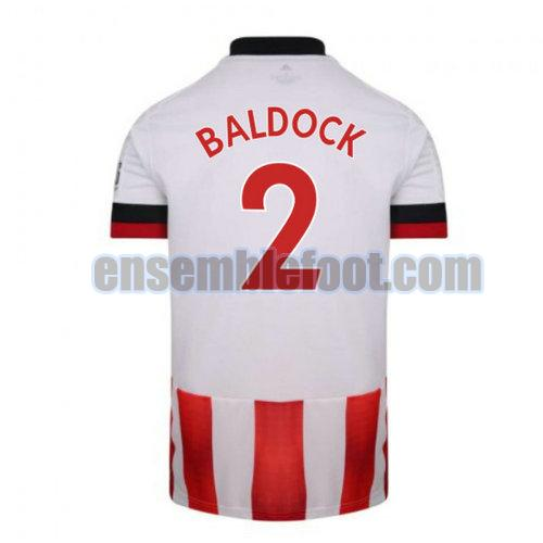 maillots sheffield united 2020-2021 domicile baldock 2