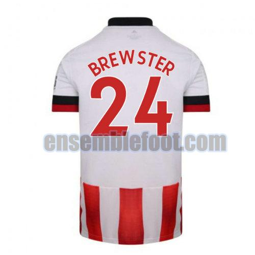 maillots sheffield united 2020-2021 domicile brewster 24