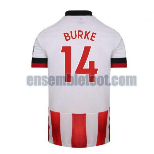 maillots sheffield united 2020-2021 domicile burke 14