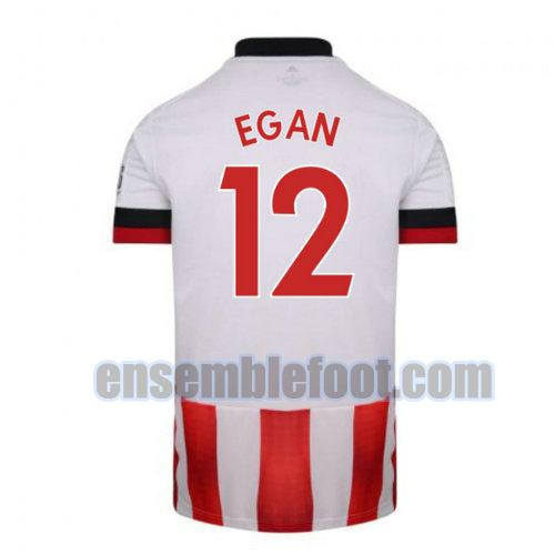 maillots sheffield united 2020-2021 domicile egan 12
