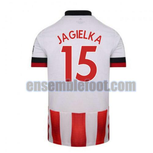 maillots sheffield united 2020-2021 domicile jagielka 15
