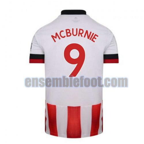 maillots sheffield united 2020-2021 domicile mcburnie 9