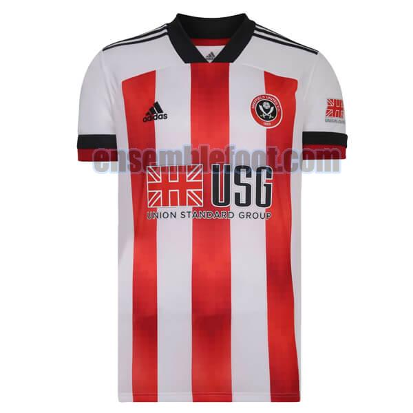 maillots sheffield united 2020-2021 officielle domicile