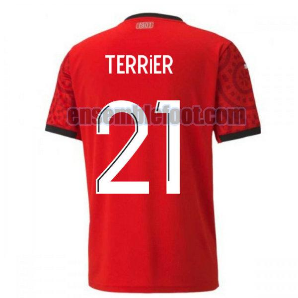 maillots stade rennais 2020-2021 domicile terrier 21