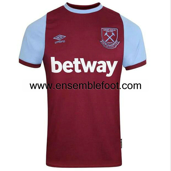 officielle maillot west ham united 2020-2021 domicile