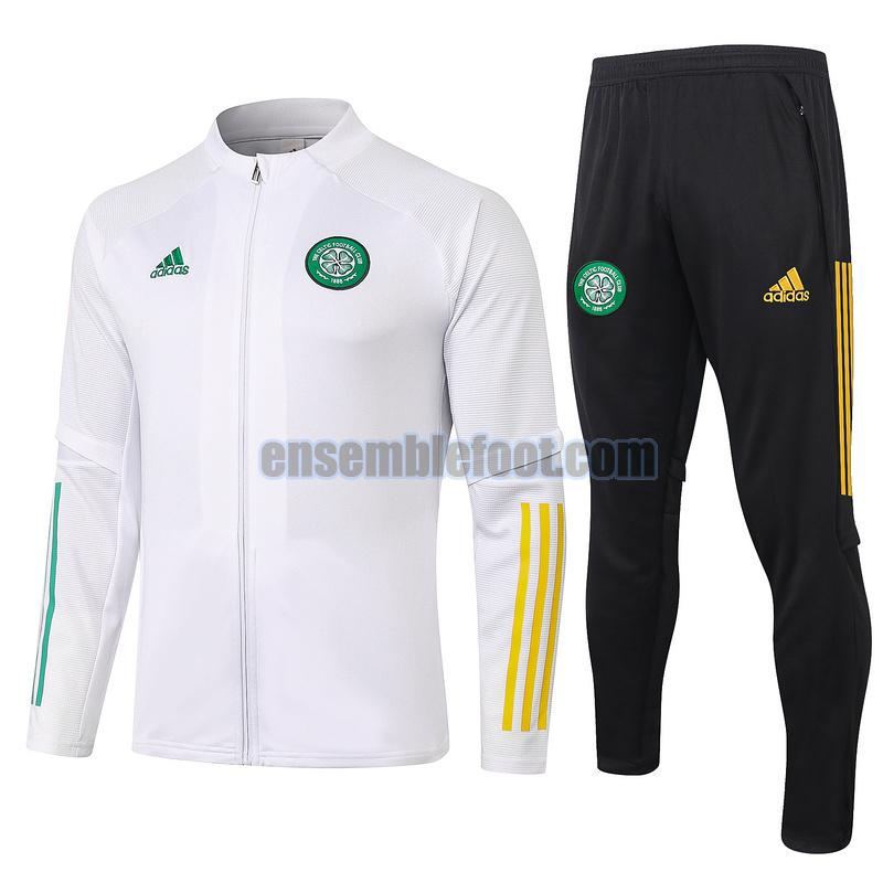 survêtements celtic fc 2020-2021 blanc vente