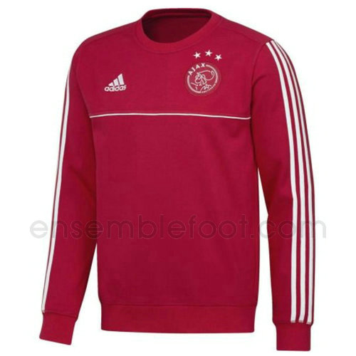 sweats pull foot hommes rouge afc ajax 2017-2018