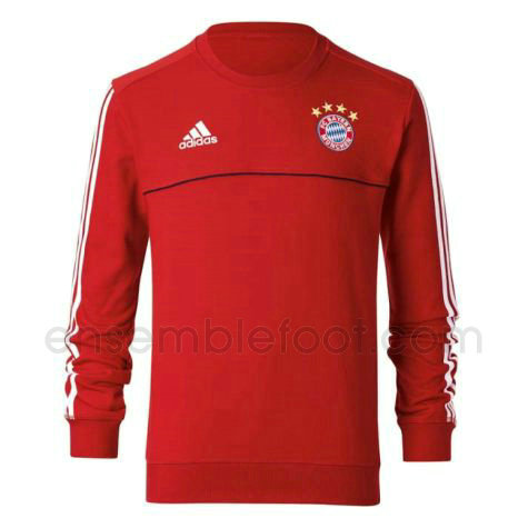 sweats pull foot hommes rouge bayern munich 2017-2018