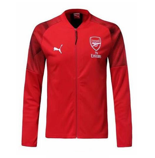 veste foot homme arsenal 2020 rouge